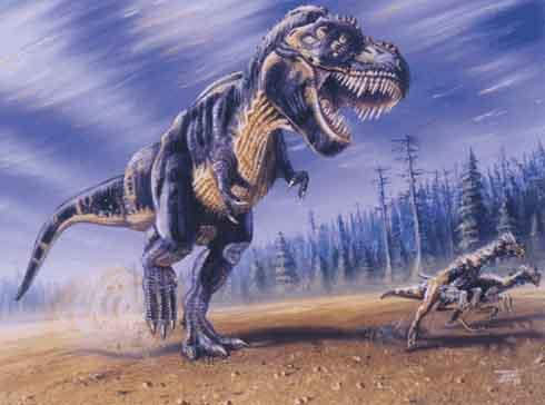 Quatro dinossauros brasileiros