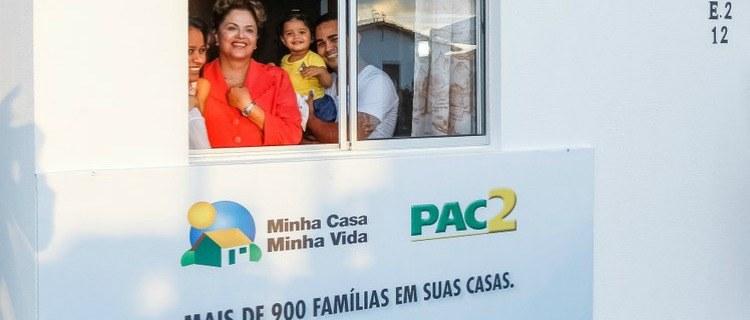 """""""Brasil tem de ser um país que olha principalmente para os que mais precisam"""", diz Dilma"""