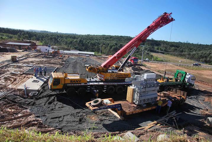 Subestação da Cermoful recebe o transformador de 20/26,6 MVA
