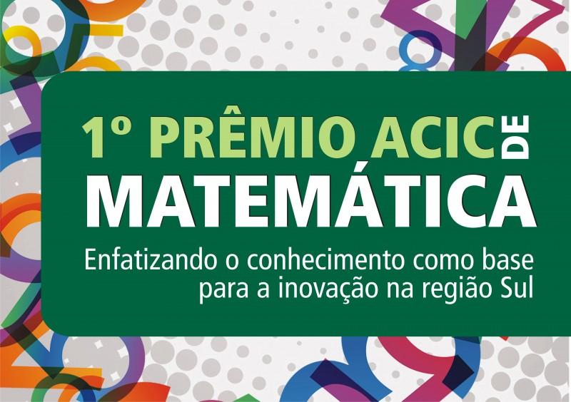 EDUCAÇÃO  – Primeira etapa do Prêmio Acic de Matemática é aplicada nesta quarta-feira