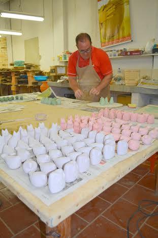 MORRO DA FUMAÇA – Coleção de peças em cerâmica será lançada nesta segunda-feira