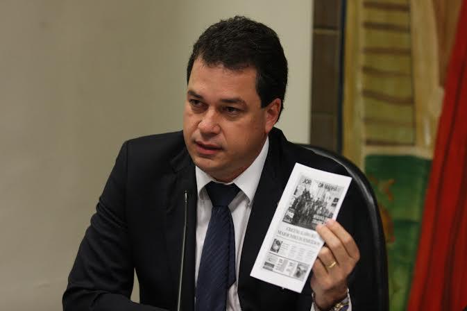 Deputado Rodrigo Minotto cobra explicações sobre violência no sul do Estado