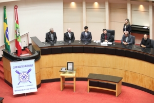 Parlamento homenageia centenário do Clube Náutico Riachuelo
