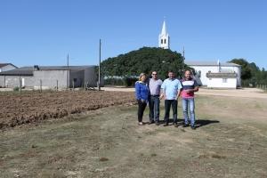 Administração adquire terreno para construção de capela mortuária em Rio Vargedo