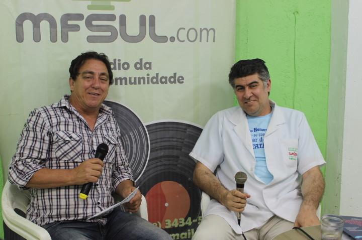 Programa MFsul Entrevistas. Entrevistado: Dr. Flávio Pereira medico naturalista.- 16 11 2015