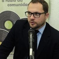 (Arquivo TVRsul) = Programa MFsul Entrevistas – Entrevistado: Advogado Rodrigo Lorenzi de Morro da Fumaça