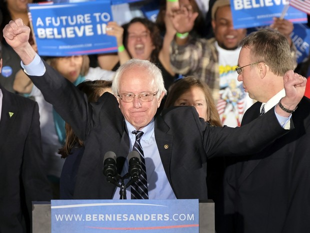 Democrata Sanders e republicano Trump vencem em New Hampshire