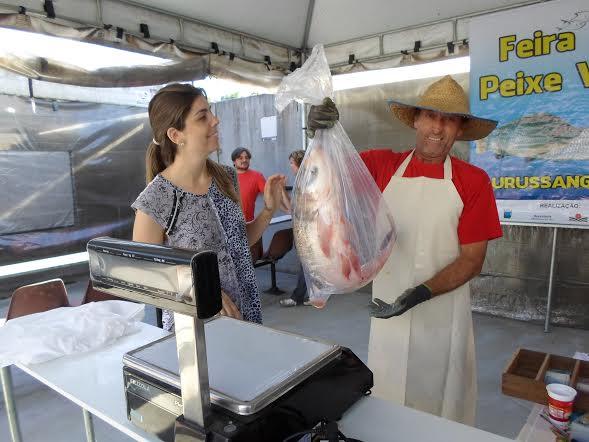 Feira do peixe vivo garante mais de 7 mil kg para comercialização na semana santa