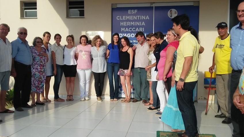 VÍDEO- Inauguração Unidade de saúde e Odontomóvel Bairro COAHB Morro da Fumaça