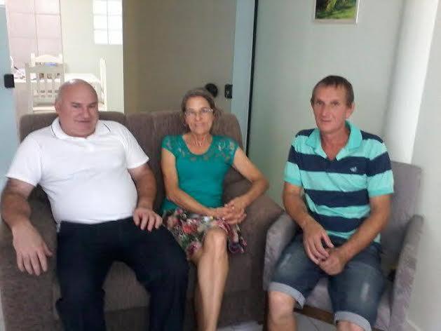 Vereadores visitam novo pároco de Morro da Fumaça
