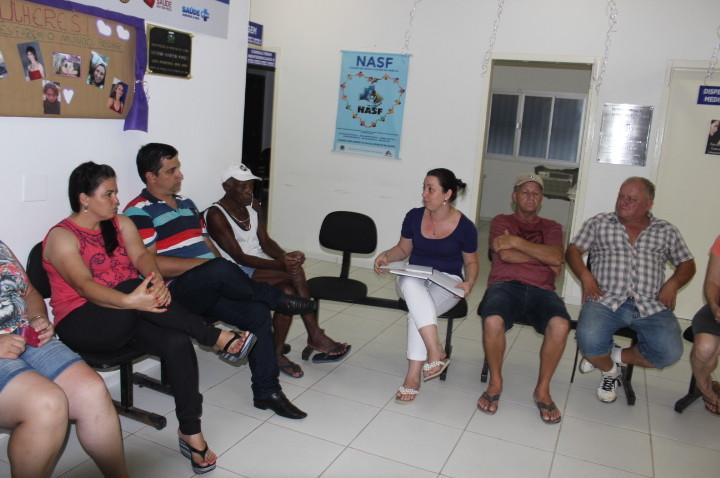 Reunião do Conselho Local de Saúde DO Bairro Naspolini Morro da Fumaça 08/13/2016