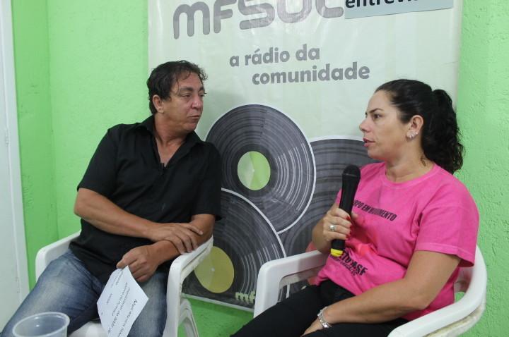 (ASSISTA O VIDEO)- Programa MFsul entrevista- Entrevistado: Marli Talfembak, coordenadora de educação fisica do NASF de Morro da Fumaça