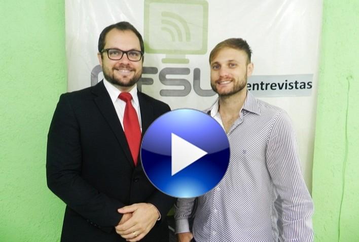 Programa MFsul Entrevistas. Entrevistados: Rodrigo Lorenzi e Adriano Zaboti Pereira, Partido da Republica (PR) de Morro da Fumaça