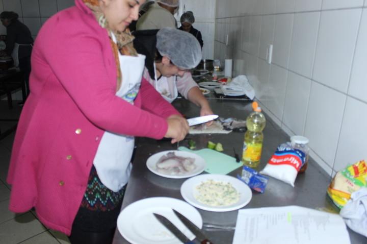 1º curso de Gastronomia Coopere/Unisul – Aula 2