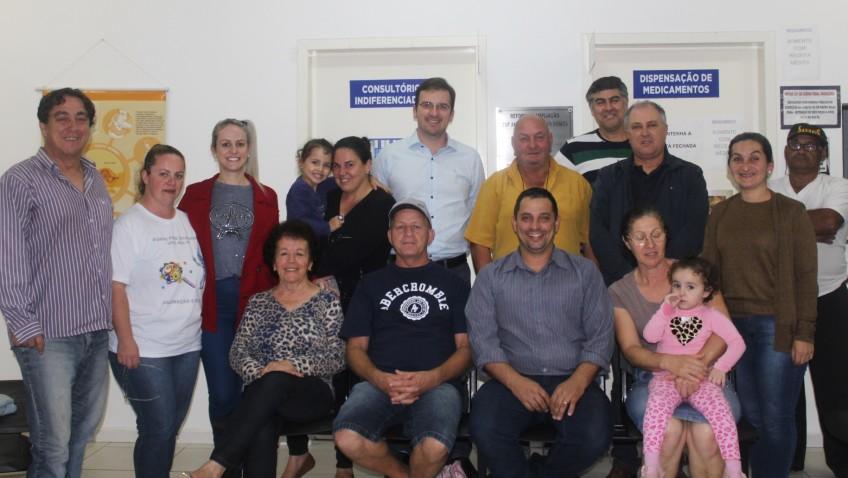 Conselho local de saúde do ESF Antônio Mauricio Gomes do Bairro Naspolini elegeu nesta quarta-feira 24 de maio os novos conselheiros da unidade.