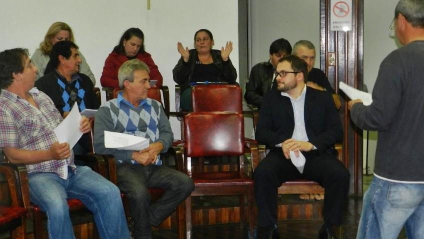 ARQUIVO TVRsul – A 1ª reunião do colegiado das entidades comunitárias de morro da fumaça elege diretoria