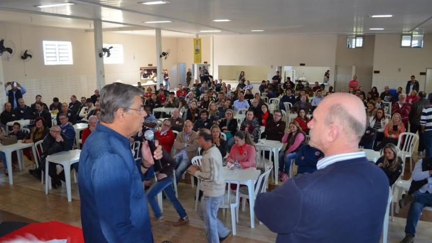 PMDB de Criciúma reúne lideranças em evento de reorganização partidária