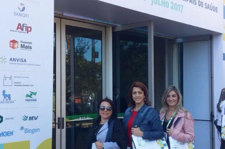 Morro da Fumaça marca presença no XXXIII Congresso Nacional de Gestores das Secretarias de Saúde em Brasília