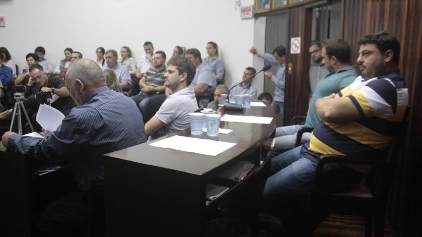 Noticias da sessãoda Câmara de Vereadores de Morro da Fumaça (sessão 04/07/2017)Noticias da sessão