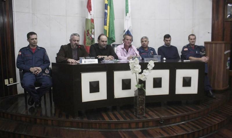 Reativação do plantão noturno do Corpo de Bombeiros de Morro da Fumaça é aprovada em votação da Câmara