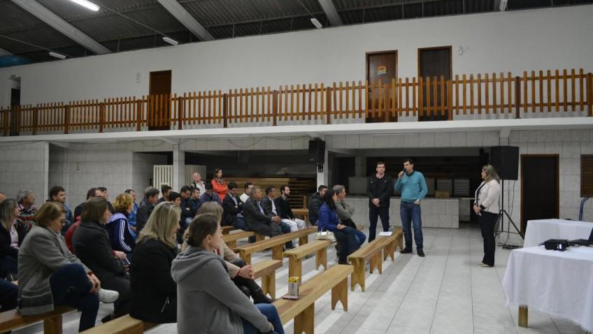 População discute geração de empregos, saúde e infraestrutura na primeira reunião do PPA de Morro da Fumaça