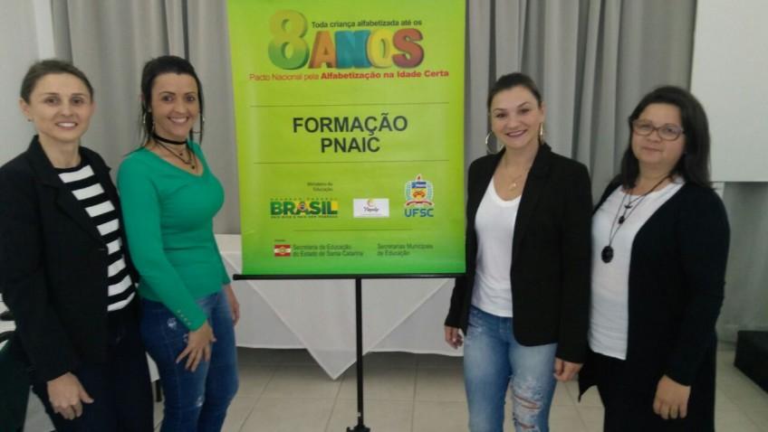Educadores participam da primeira etapa do curso de formação do Pnaic
