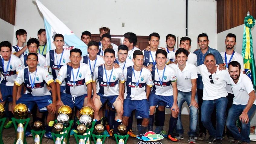 Equipe do tigrinhos Garopaba, vice campeão