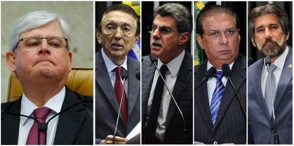 No bico do corvo, Janot denuncia senadores do PMDB por organização criminosa