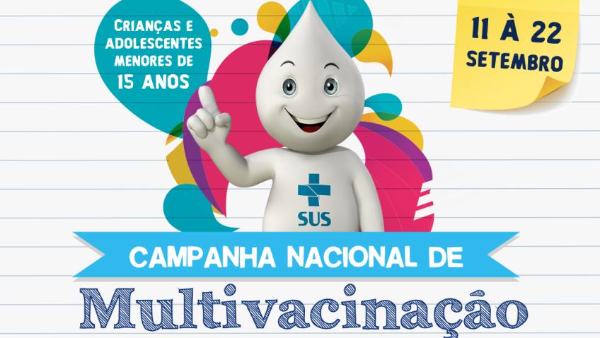 Campanha de Multivacinação é realizada nas unidades de saúde em Morro da Fumaça