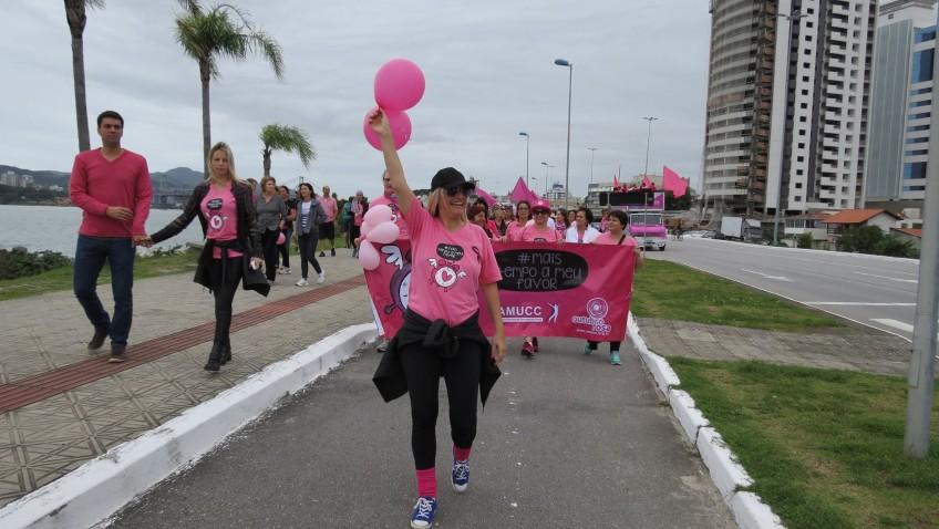 AMUCC promove Caminhada Rosa