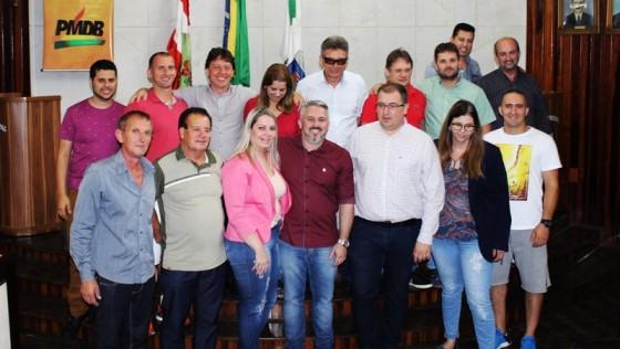 PMDB de Morro da Fumaça elege seu novo diretório com Marcelo De Costa na presidência e Vado Marcolino na vice-presidência.