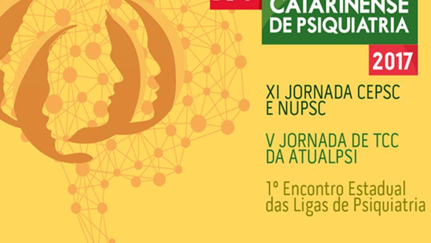 Associação Catarinense de Psiquiatria promove em novembro a XV Jornada Catarinense de Psiquiatria
