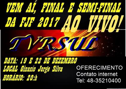 Semi-final e final dos jogos da FJF 2017