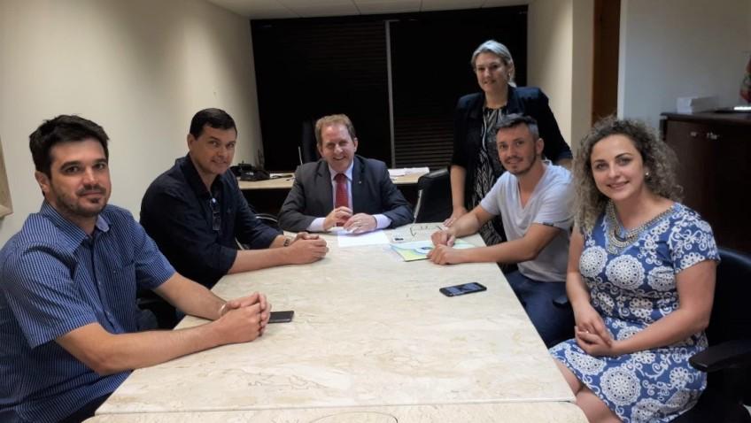 Prefeito Noi Coral conquista mais de um milhão reais de recursos para Morro da Fumaça