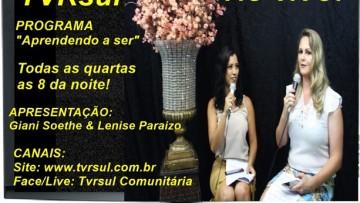 """""""Aprendendo a ser"""" – Hoje 17 de janeiro. Convidado de hoje: Flavio Pereira, medico naturanista"""