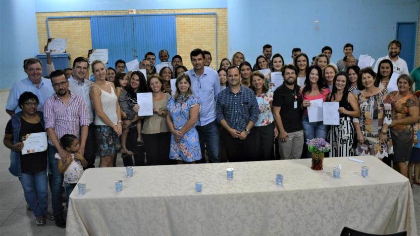 Mais de 70 alunos concluem os cursos profissionalizantes em Morro da Fumaça