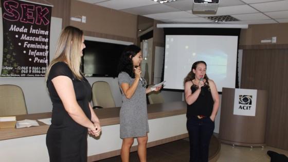 VÍDEO-MULHERES EMPREENDEDORAS Evento realizado na CIT em Tubarão no dia 14 de março de 2018. Organização: Empreendedoras Giani Soethe e Leniee Paraizo.