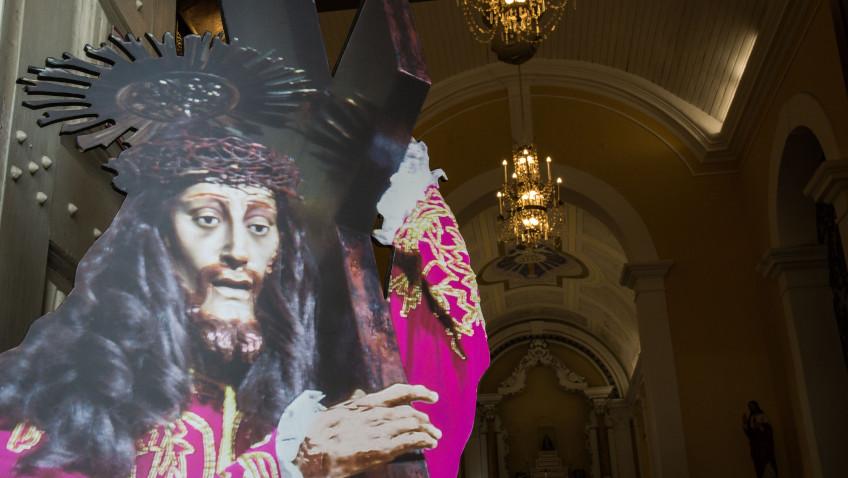 Réplicas da imagem do Senhor Jesus dos Passos estão expostas em 20 paróquias da Grande Florianópolis