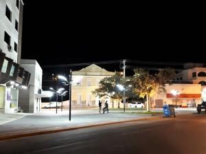 Praça Fernando Zanatta recebe iluminação (7)