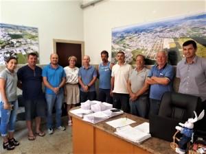 Reunião do prefeito com empresários de MF
