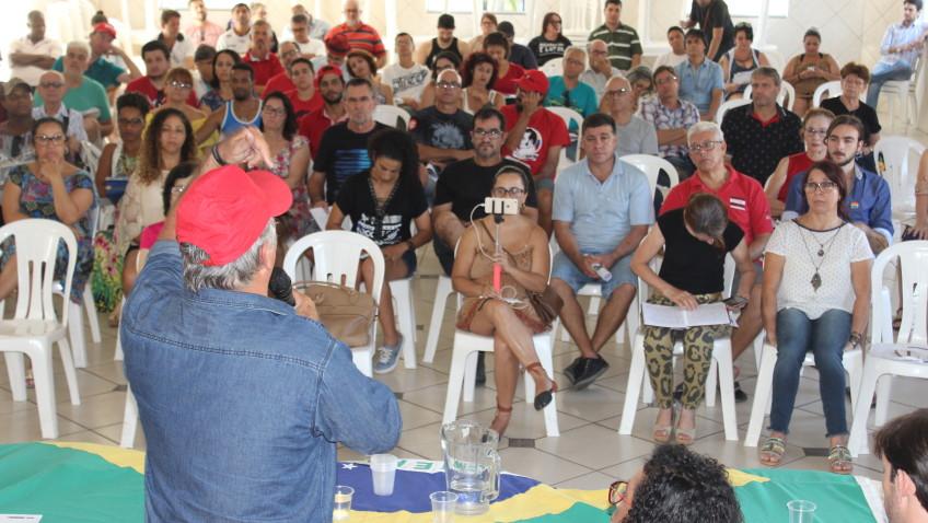 Frente Brasil Popular realiza Seminário regional de formadores em Criciúma neste sábado dia 28 de abril (Veja todas as fotos)