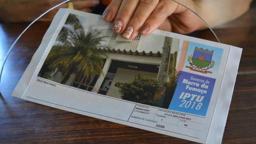 Pagamento do IPTU com desconto vence nesta quinta-feira em Morro da Fumaça