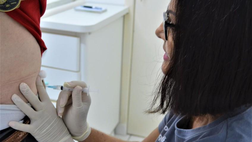 Comunidade busca proteção contra a gripe nas unidades de saúde em Morro da Fumaça