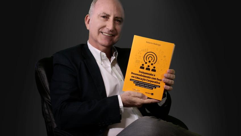 Educação corporativa é tema de novo livro do professor Roberto Madruga