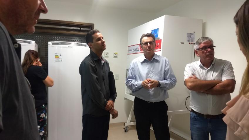 SC Transplantes e Acélio Casagrande fazem visita técnica ao Banco de Olhos de Criciúma