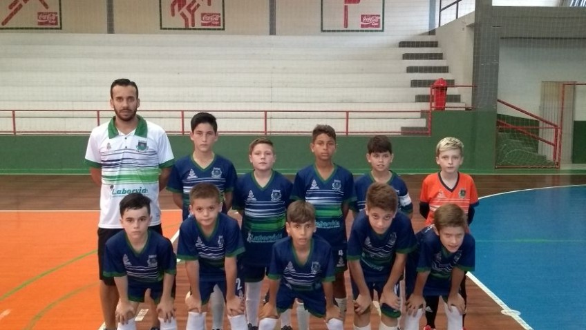 Morro da Fumaça recebe rodada do Estadual de Futsal Sub-11