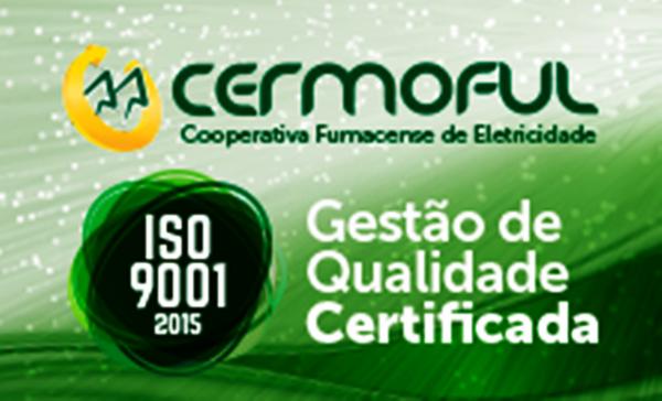 Cermoful agora é ISO 9001 2015