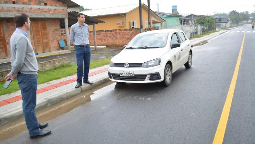 Concluídas, pavimentações já beneficiam moradores do bairro De Costa
