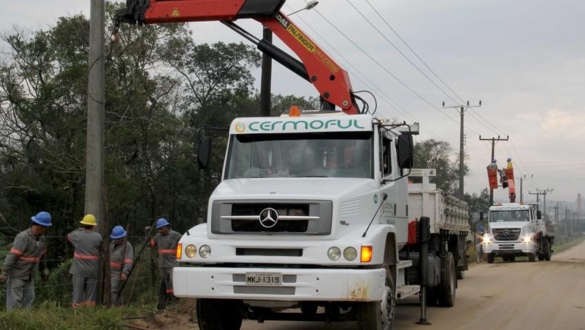 Cermoful moderniza rede entre os bairros Jussara e Ronco D'água