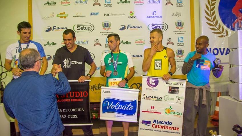Night Run reúne corredores e familiares em Nova Veneza